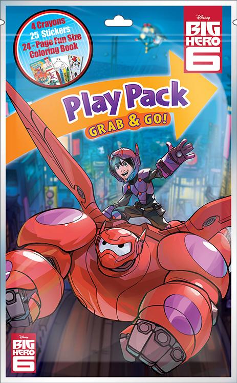 Big Hero 6 Grab And Go Playpack