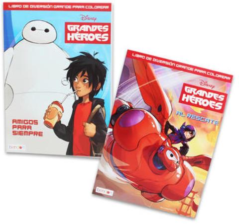 Disney Big Hero 6 Coloring Book