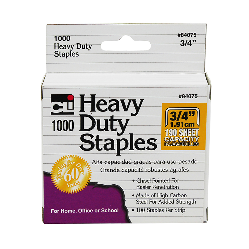 (10 Ea) Extra Hvy Duty Staples 3/4