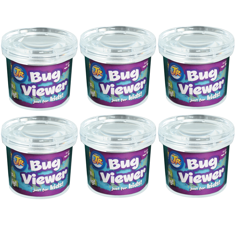 (6 Ea) Bug Viewer Extra 3in Without